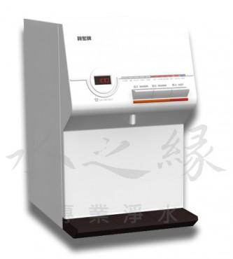 賀眾牌 UR-672BW-1智能型微電腦桌上雙溫純水飲水機 [溫熱]